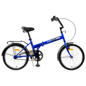 Велосипед 20' Novatrack TG30, цвет синий Ош
