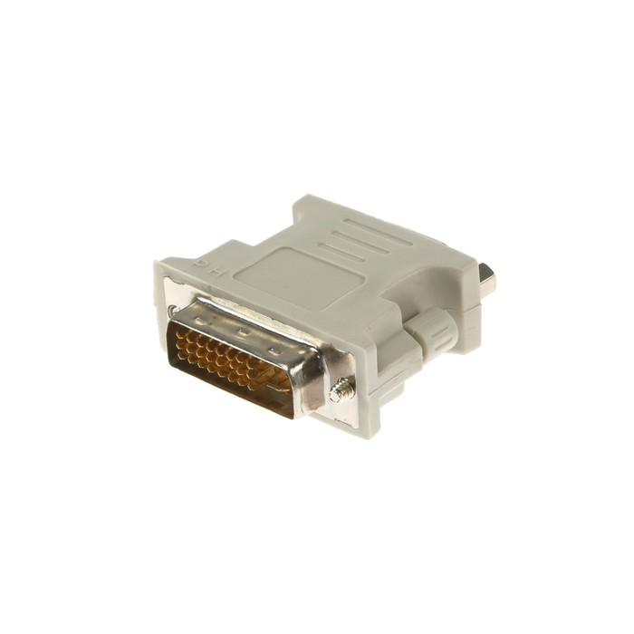 Адаптер Ritmix RCC-070, DVI-M-VGA (15F), белый