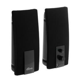 Компьютерные колонки 2.0 Ritmix SP-2059, 2х3 Вт, USB, черные Ош