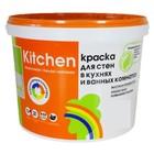 Краска для кухонь и ванных комнат база А 2,7 л