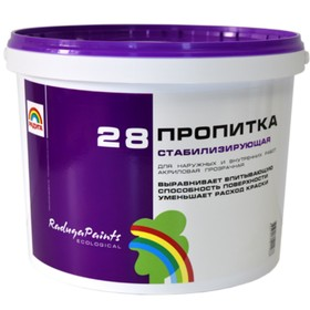 Пропитка РАДУГА 28 Пропитка стабилизирующая 1кг Ош