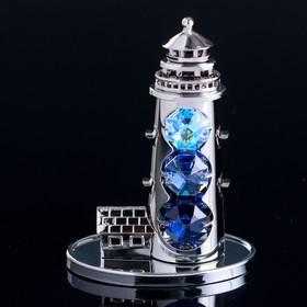 "Сувенир с кристаллами Swarovski ""Маяк"" 8,7х6,3 см"