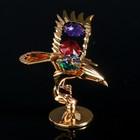 "Сувенир с кристаллами Swarovski ""Орёл"" 11,1х5,2 см - Фото 2"