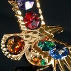 "Сувенир с кристаллами Swarovski ""Орёл"" 11,1х5,2 см - Фото 4"