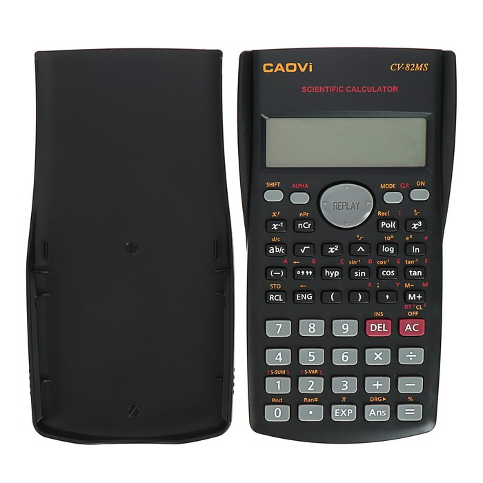 Калькулятор инженерный 10-разрядный Caovi  CV-82MS двухстрочный