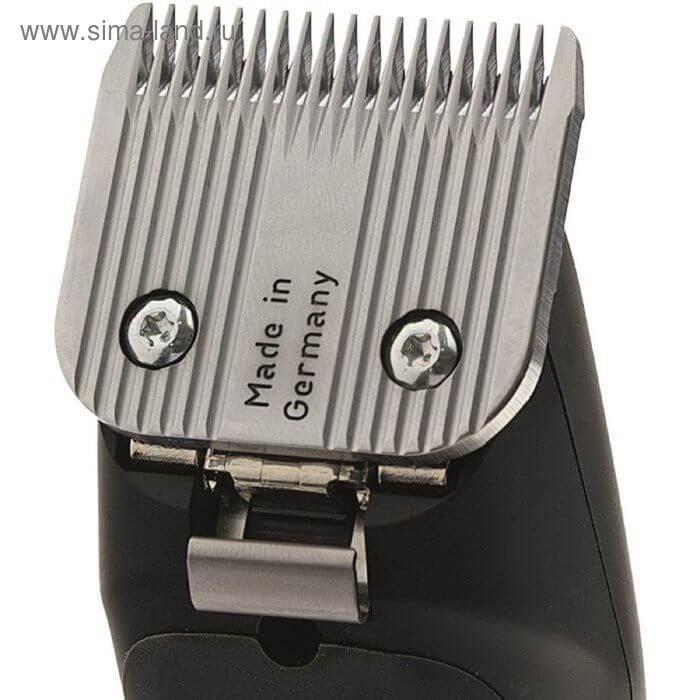 Машинка для стрижки Moser 1250-0060, 24 Вт, 49 мм, от сети, чёрная