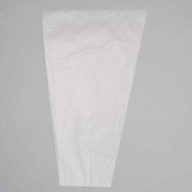 Пакет для цветов конус 'Прозрачный', 25 х 40 см Ош