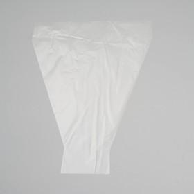 Пакет цветочный рюмка 'Мелодия', прозрачный, 30 х 40 см Ош