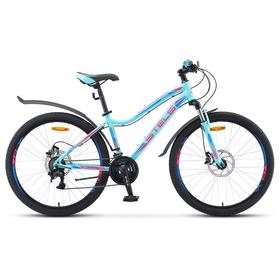 Велосипед 26' Stels Miss-5000 D, V010, цвет мятный, размер 15' Ош