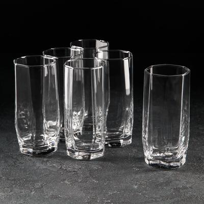 "Набор стаканов 330 мл ""Hisar. Коктейль"", 6 шт"