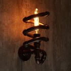 Бра 4422/2 E27 60Вт коричневый 33х16х13 см - Фото 3