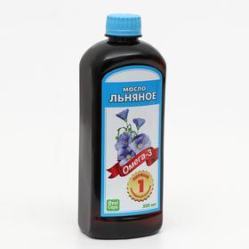 Льняное масло, 500 мл
