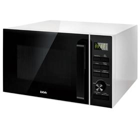 Микроволновая печь BBK 25MWC-992T/WB, 900 Вт, 25 л, 6 режимов, чёрно-белая
