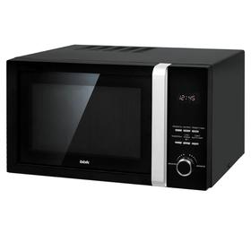Микроволновая печь BBK 23MWS-828T/B, 800 Вт, 23 л, 5 режимов, чёрная