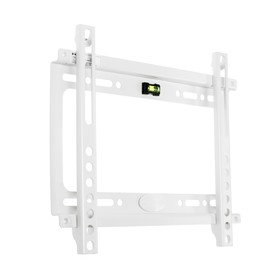 """Кронштейн Kromax IDEAL-5, для ТВ, фиксированный, 15-47"""", 20 мм от стены, белый"""