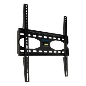 """Кронштейн Kromax STAR-33, для ТВ, фиксированный, 22-55"""", 33 мм от стены, черный"""