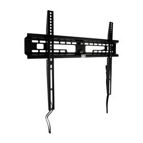 """Кронштейн Kromax FLAT-1 new, для ТВ, фиксированный, 32-90"""", 28 мм от стены, черный"""