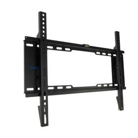 """Кронштейн Kromax IDEAL-101, для ТВ, фиксированный, 32-90"""", 30 мм от стены, черный"""