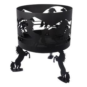 Очаг BOYSCOUT «Кони» диаметр 45 см Ош