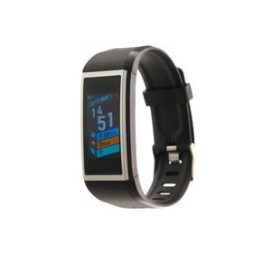 Фитнес-браслет Smarterra FitMaster 5, 1.14', IP67, цветной дисплей, пульсометр, черный Ош