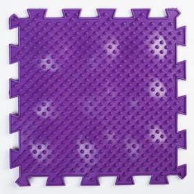 Детский массажный коврик 1 модуль 'Жёсткие Ёжики', цвет МИКС Ош