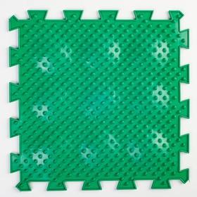 Детский массажный коврик 1 модуль 'Мягкие Ёжики', цвет МИКС Ош