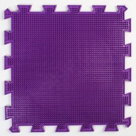 Детский массажный коврик 1 модуль 'Жёсткая Трава', цвет МИКС Ош