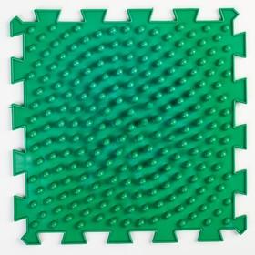 Детский массажный коврик 1 модуль 'Жёсткие Шипы', цвет МИКС Ош