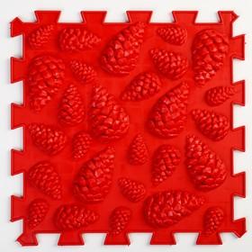 Детский массажный коврик 1 модуль 'Жёсткие Шишки', цвет МИКС Ош