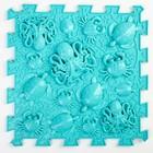 Детский массажный коврик 1 модуль «Океан», цвет голубой