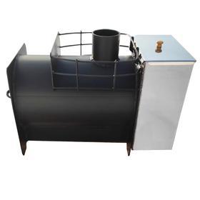 Печь банная Добродея компакт с баком 30л Ош