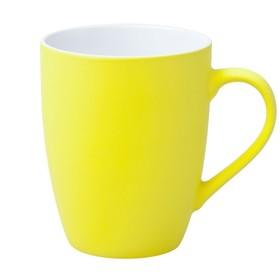Кружка Good Morning c покрытием софт-тач, 360 мл, жёлтая