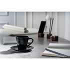 Кофейная пара Dark Fluid 200 мл, чёрная - Фото 4