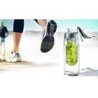 Бутылка для воды Flavour It 2 Go, 600 мл, серая - Фото 2