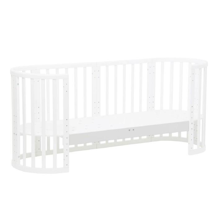 Опорная планка для кроватки детской Polini kids Simple 910, цвет белый