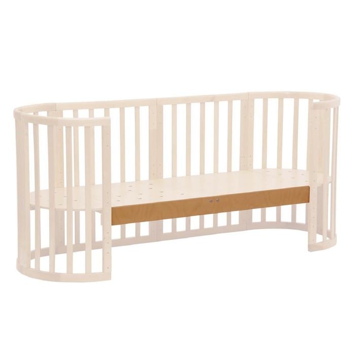 Опорная планка для кроватки детской Polini kids Simple 910, цвет бук