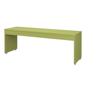 Стол письменный большой Polini kids City/Urban, 205x60 см, зеленый Ош