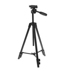 Штатив напольный LuazON, усиленные ножки, регулирование высоты 34-108 см, черный Ош