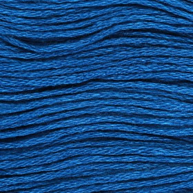 Нитки мулине, 8 ± 1 м, цвет тёмно-синий №3842 Ош