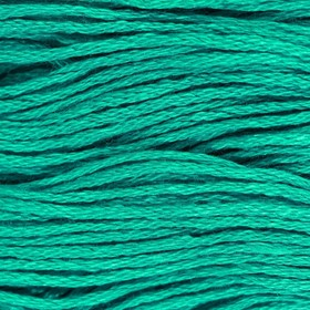 Нитки мулине, 8 ± 1 м, цвет мятный №3812 Ош