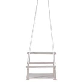 Качели детские подвесные, деревянные, сиденье 28×34,5см Ош