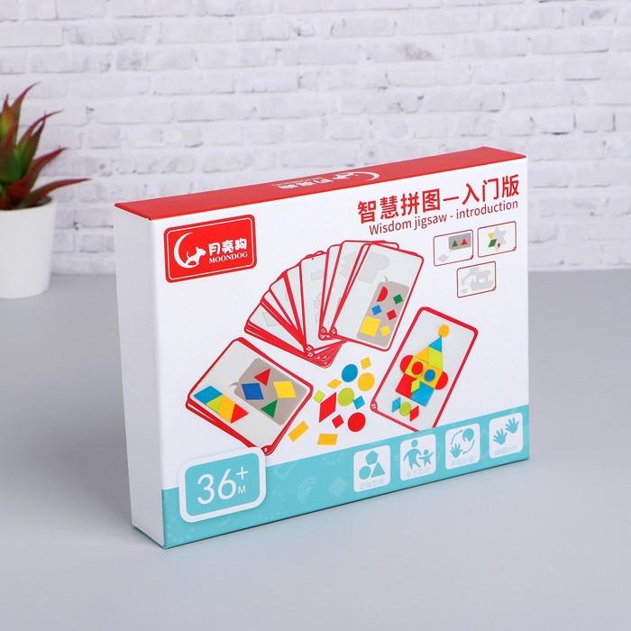 Развивающая игра «Собери фигуры» 4×24,5×18,5 см