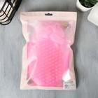 Набор: массажёр антицеллюлитный, резинки (2 шт.) и губка для тела «Будь самой красивой», 15 х 10,5 см - Фото 7