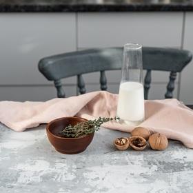 Чаша из натурального кедра, 10,5x4,7 см, цвет коричневый