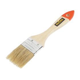"""Кисть малярная  Rutek """"Любитель"""", натуральная щетина, деревянная ручка, 38 мм"""