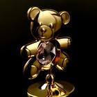 "Сувенир с кристаллами Swarovski ""Медвежонок Тедди"" 5,5х3,7 см - Фото 4"