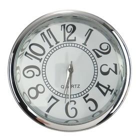 Часы автомобильные, внутрисалонные, d 4.5 см, ретро Ош
