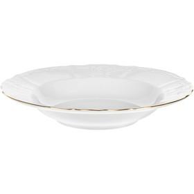 Тарелка глубокая Bernadotte «Отводка золото», 23 см