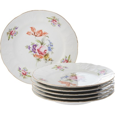 Тарелка десертная Bernadotte, декор «Мейсенский букет», 19 см - Фото 1
