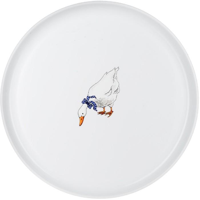 Блюдо круглое мелкое Bernadotte «Гуси», 34 см